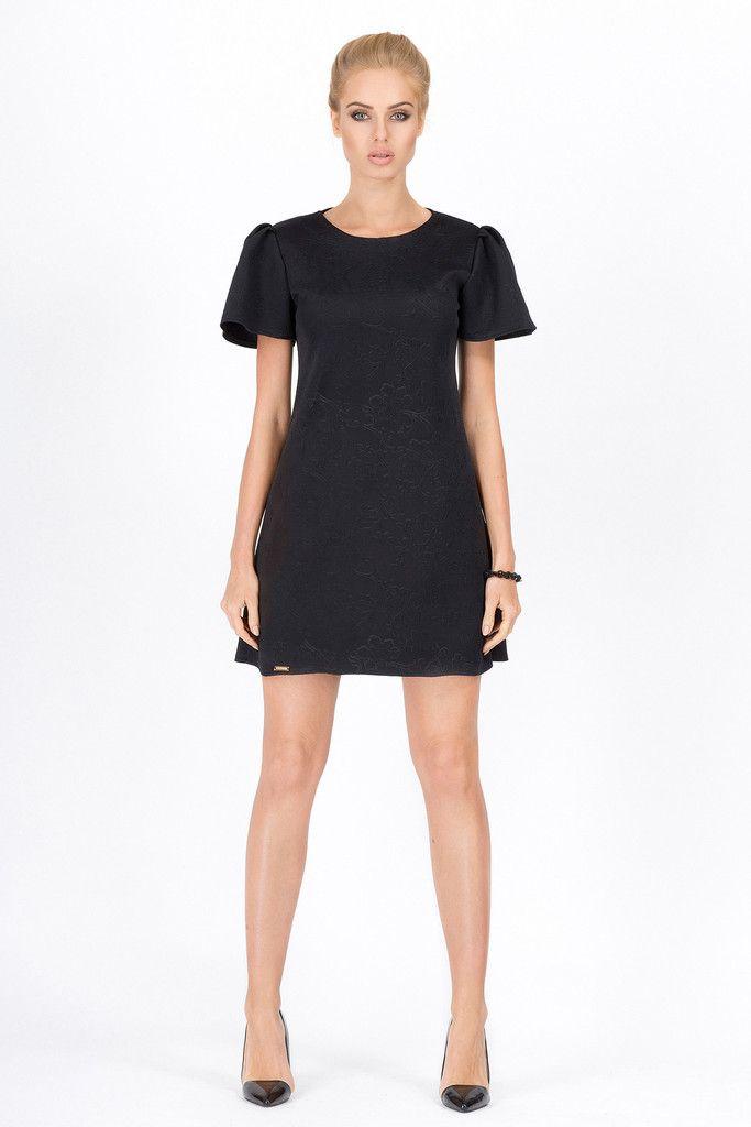 Elegant Black Mini Dress – Kiss and Belle Boutique