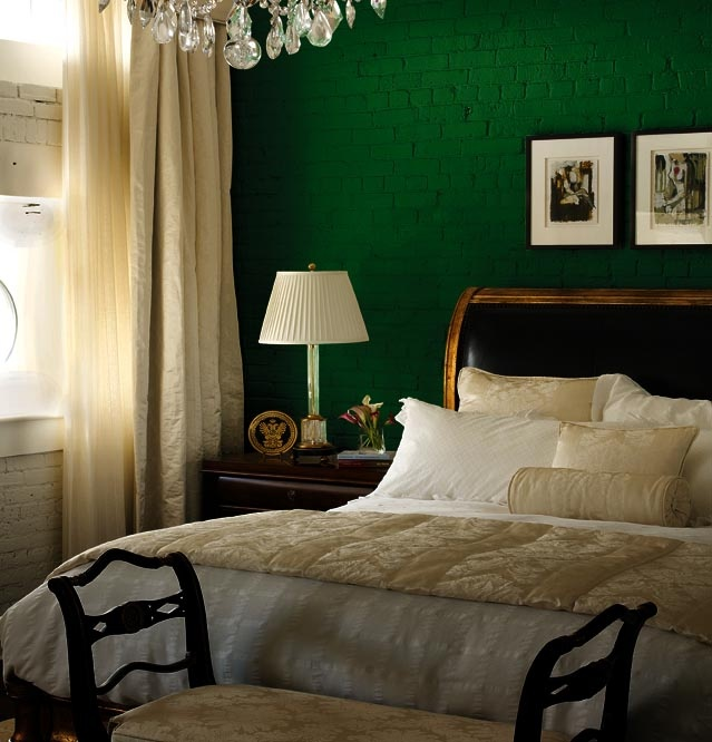 42 best green black and gold bedroom images on pinterest for the home home ideas and Master bedroom with green walls