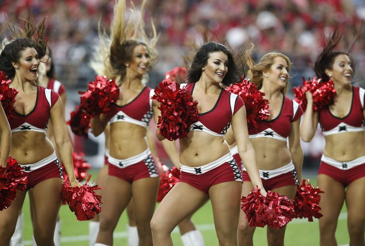 cardinals. The Arizona Cardinals cheerleaders' uniforms ...