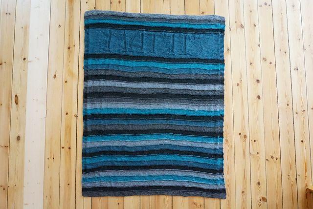 Ravelry: fruobenhaupt's Barbaras Baby Blanket