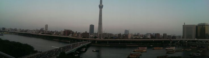 Sumida river fireworks festival 2014