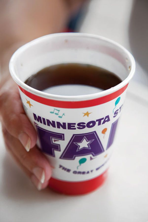 Beaten egg purifies and lends a creaminess to lesser-quality ground coffee in this drink popular at the Minnesota State Fair.