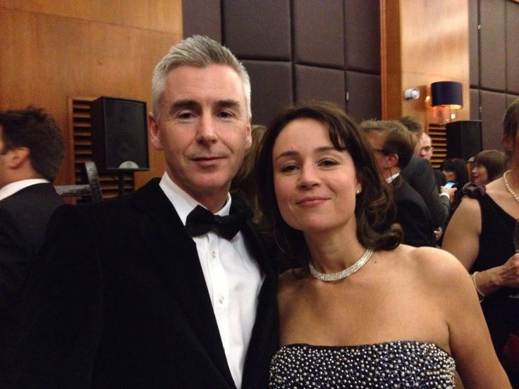 Mark Coulson & Hannah Macleod at the Great British Entrepreneur Awards held in London's  Grand Connaught Rooms