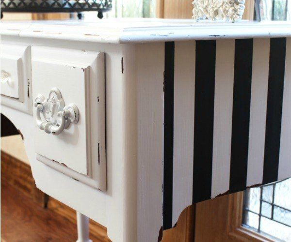 s 13 times dark furniture made you question your all white kitchen, painted furniture, Polar Paint Choice for Dressing Table