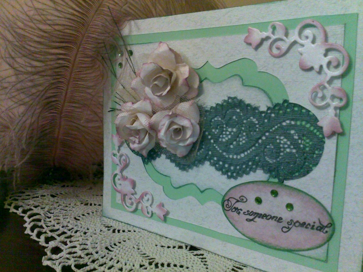 for someone special Greeting cards handmade, Handmade