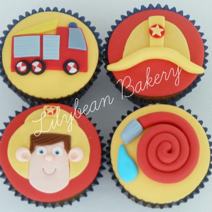 Fireman Sam Cupcakes ...