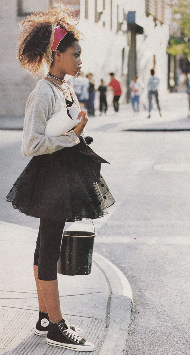The '80s Are Back! Our 15 Favorite Old School Trends via Brit + Co. // Tutus: Madonna taught us you don't have to be a ballerina to wear a tutu. And our lives have never been the same. Tutus for everyone! (via Buzzfeed)