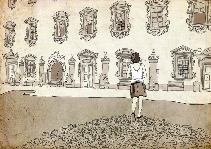 Tabor City - Illustration - tablet