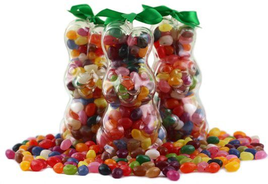 Assorted Gourmet Jelly Bean Bunny - Upright Assorted Gourmet Jelly Bean Bunny - Upright - A cheeky flopsy bunny filled to the brim with deliciously juicy and very colourful Assorted Gourmet Jelly Beans... a fantastically original alternative to http://www.MightGet.com/january-2017-12/assorted-gourmet-jelly-bean-bunny--upright.asp