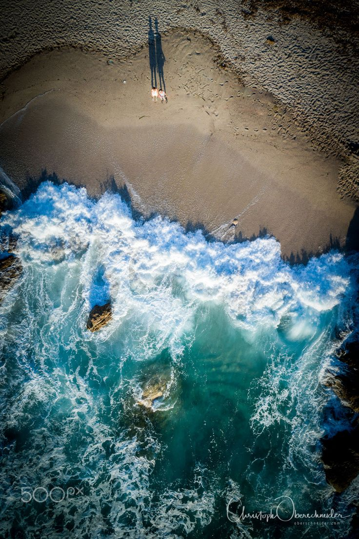 "Wave Watchers - Aerial image captured with a DJI Phantom 4 Pro. Image available for licensing.  Order prints of my images online, shipping worldwide via  <a href=""http://www.pixopolitan.net/photographers/oberschneider-christoph-a6030.html"">Pixopolitan</a> See more of my work here:  <a href=""http://www.oberschneider.com"">www.oberschneider.com</a>  Facebook: <a href=""http://www.facebook.com/Christoph.Oberschneider.Photography"">Christoph Oberschneider Photography</a> follow me on <a…"