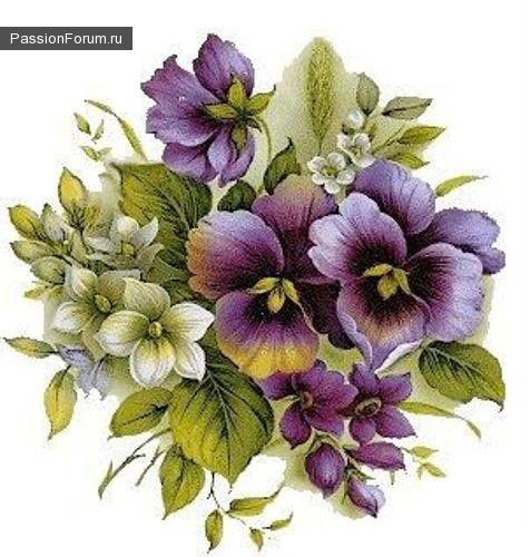 фрукты,цветы / Декупаж / Картинки для декупажа