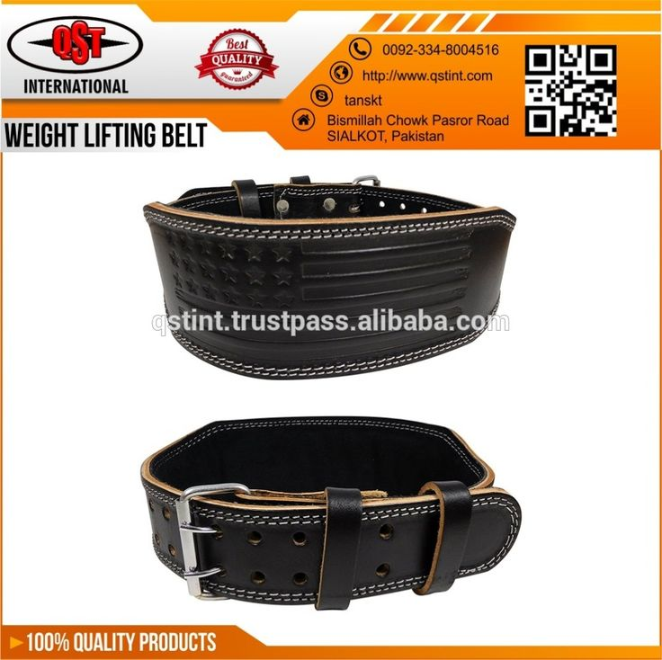 American Flag Leather Weightlifting Belt Custom Body Building Gym Training Best Fitness Workout Belt