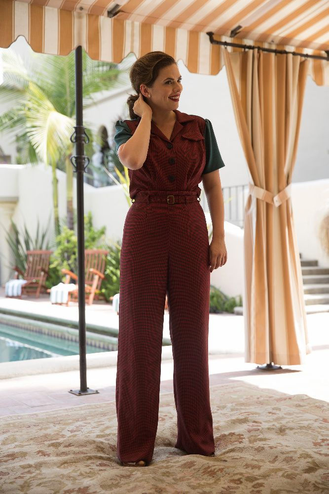 Marvel's Agent Carter Season 2 Brings More Marvel, Madame Masque, and a Love Triangle and some fantastic marvel fashion with Agent Carter's new wardrobe.