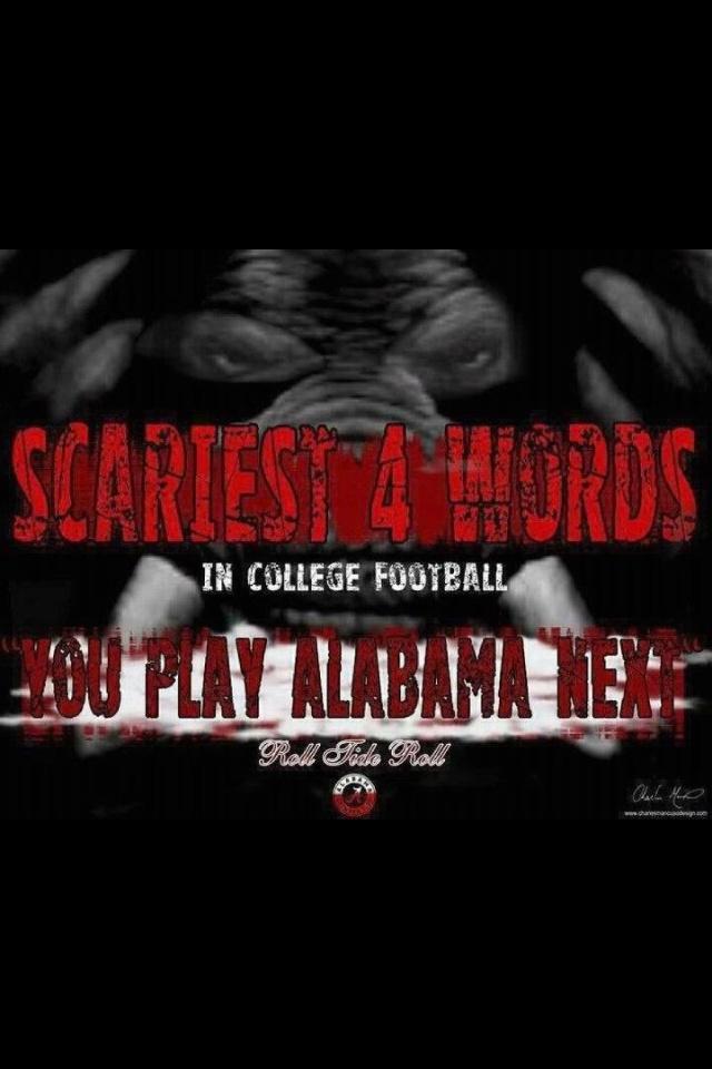 You play Alabama Next! :))