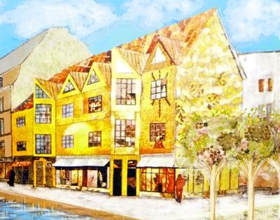 collage Building Copenhagen