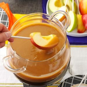 Caramel Apple Fondue Gotta try this with Opal Apples if I ever find them. #gotacoupon #opalapples