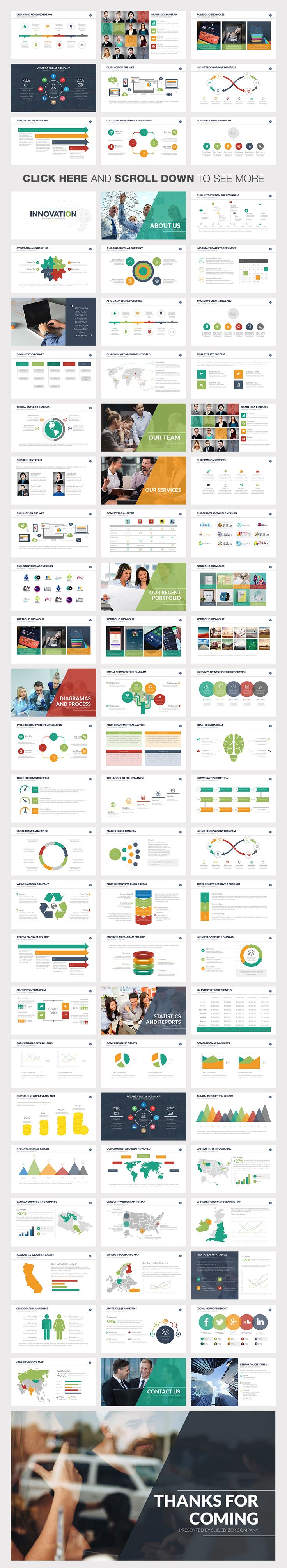 Innovation Powerpoint Template by Slidedizer on Creative Market