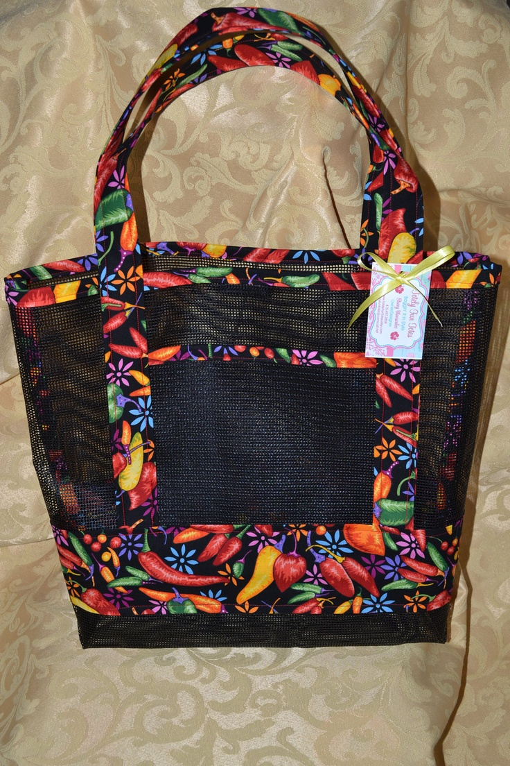 17 Best Beach Bags Mesh Images On Pinterest Beach Bags