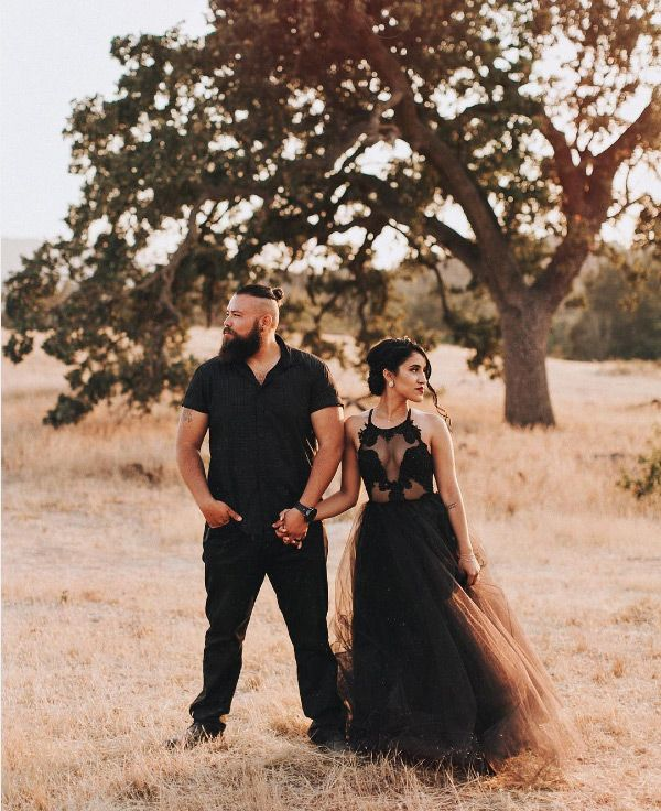 Bridal Noir: 26 stunning black wedding dresses