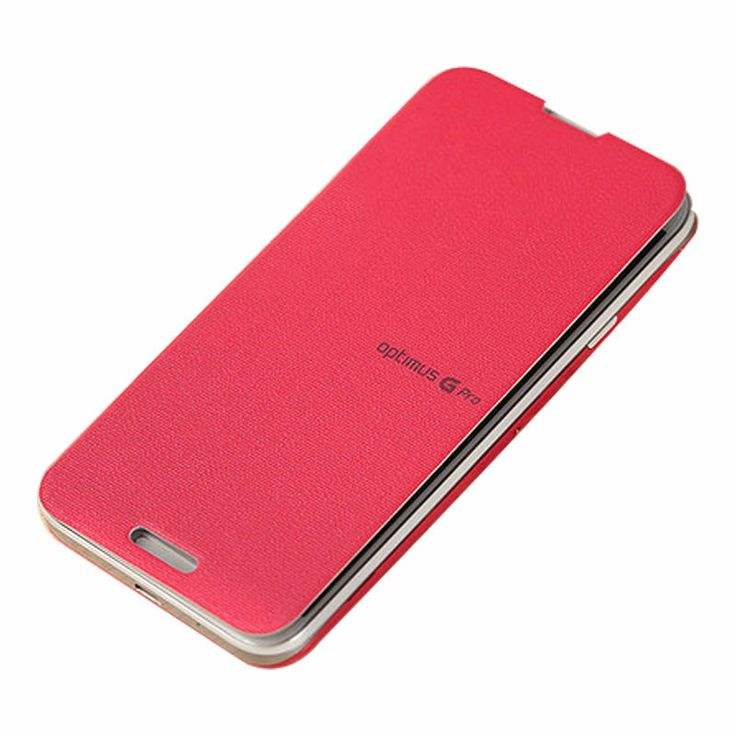 [LG] Optimus G-Pro Quick Cover NFC & Wireless Charging Case (Pink Blossom) NEW