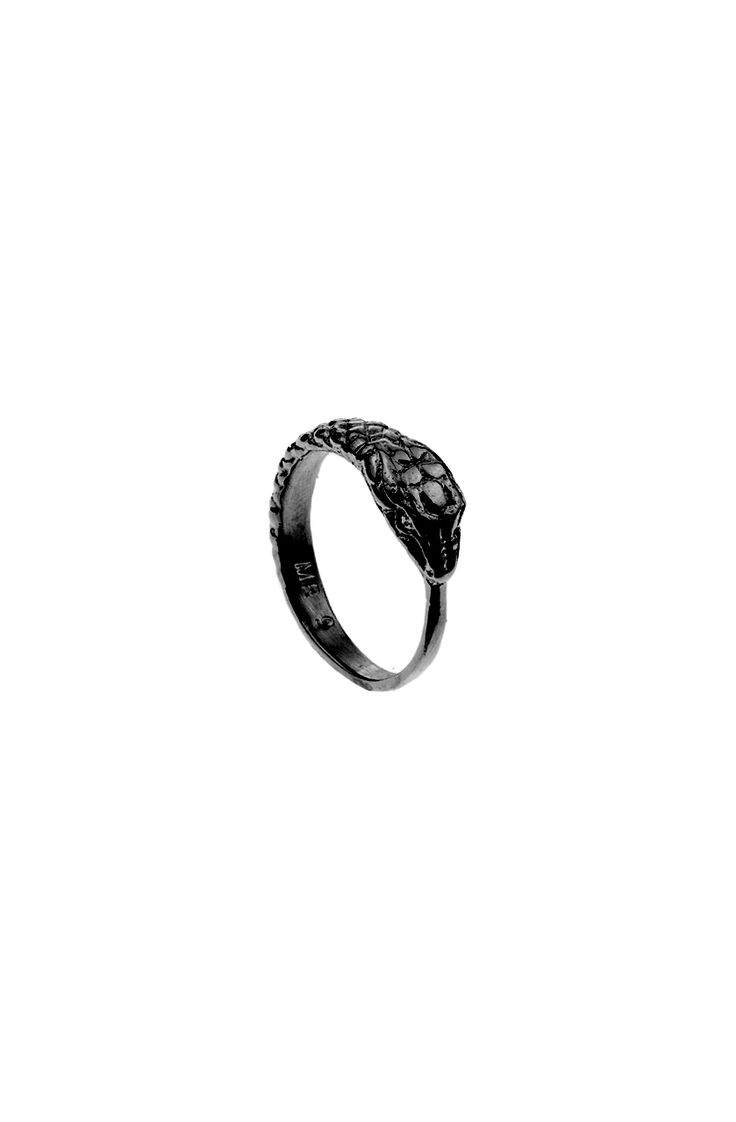 """Mister Ouroboros Ring - Black - Mister - """"Day by Day"""""""