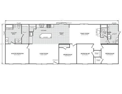 4a344c2cbfe999029c17fe221ebda393 Sandlewood Fleetwood Single Wide Mobile Home Floor Plans on