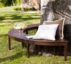 Resultado de imagen para ideas para hacer mesa  alrededor de un arbol en el jardin