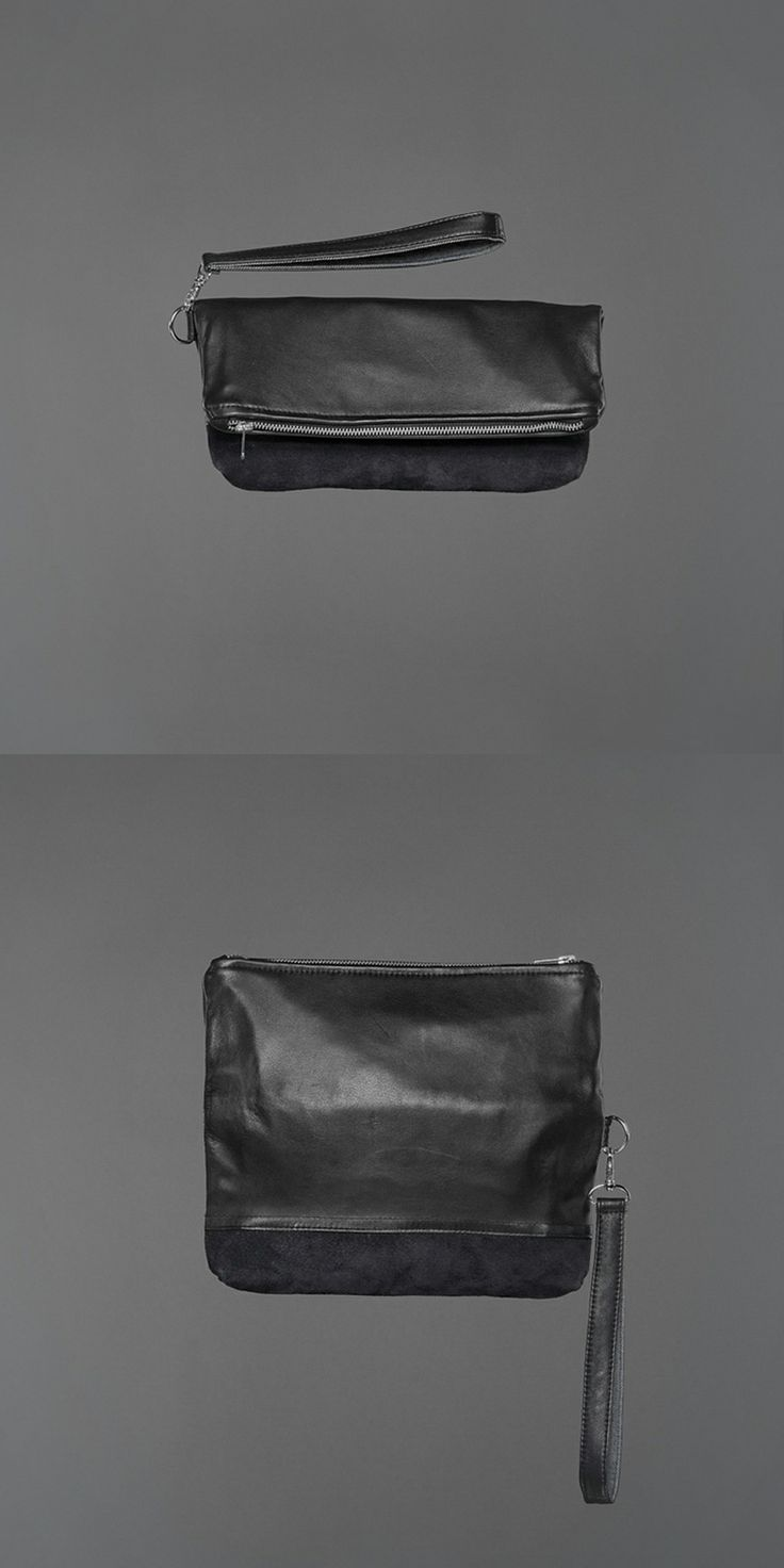 Sally Suede Clutch - recycled leather http://ervinlatimer.com/product/sally-suede-clutch