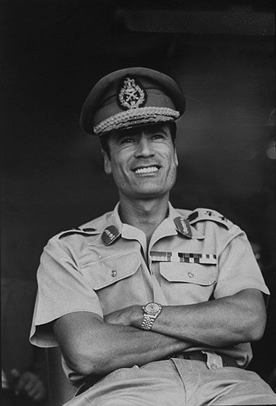 Muammar Gaddafi: a life in pictures
