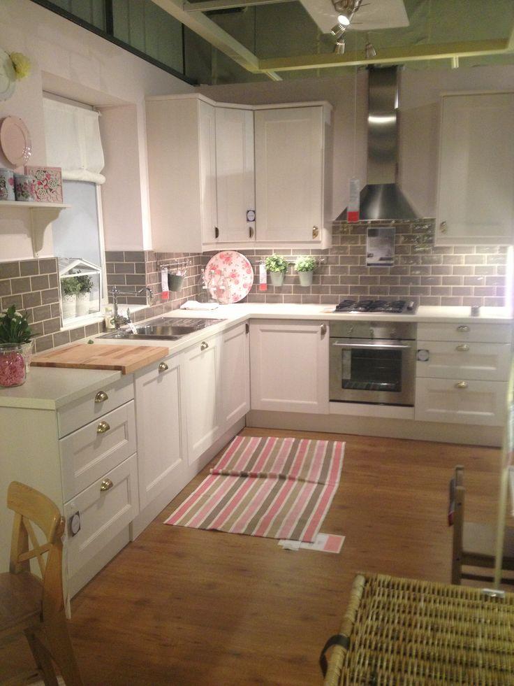 Ikea kitchen; the back wall?