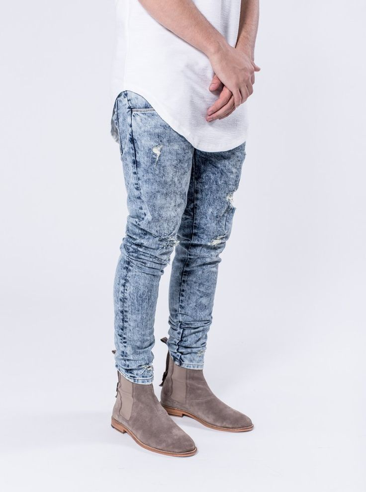 Slane - Volcano Blue  $184.00    The Slane is the perfect fitting denim with distressing, our signature cut and sew seat detailing on the rear of the pants. This colour-way has the very unique acid wash we have created called Volcano Blue.     https://kollarclothing.com/collections/all/products/slane-volcano-blue