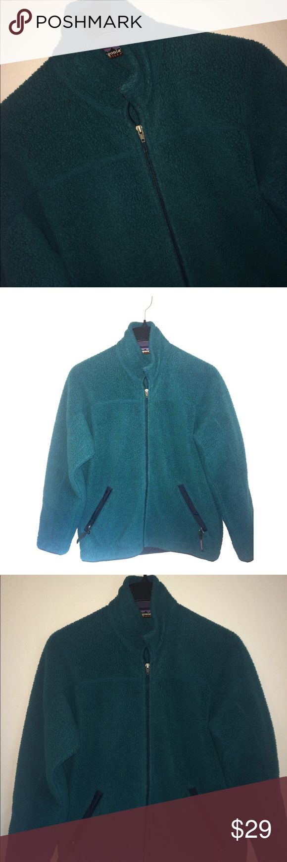 """Patagonia Fleece Synchilla Teal Blue Green Jacket For sale:Patagonia Fleece Synchilla Full Zip Teal Blue Green Jacket Men's Size SMALL. Jacket features two front zippers with logo pulls. Dimensions:acrossthe chest,approximately22"""". USA Made. Interested?Thank you. Patagonia Jackets & Coats"""