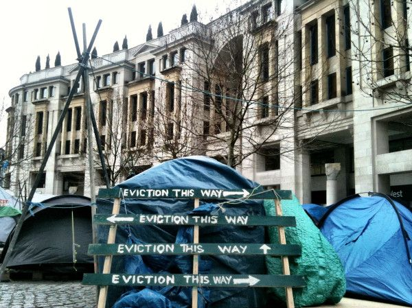 Eviction this way via @heardinlondon