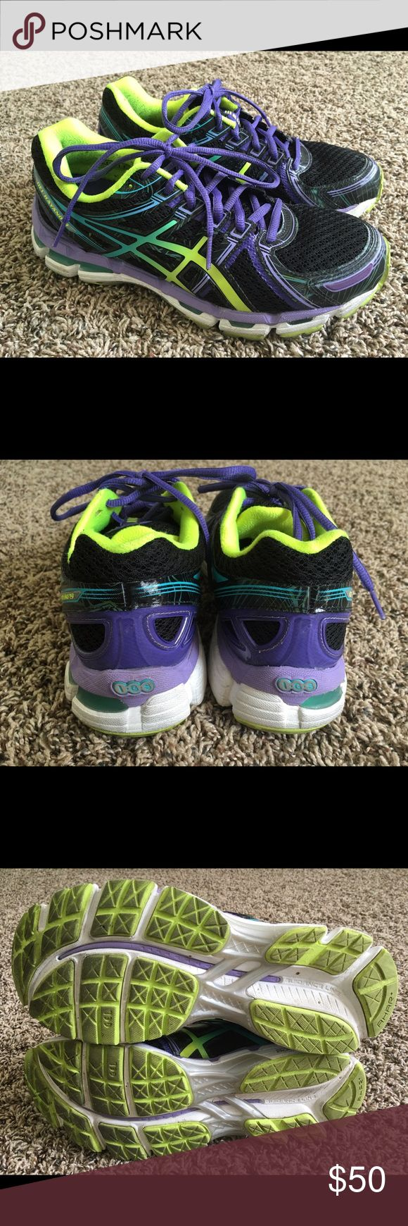 Asics Gel Kayano 19 Women's Size 8 Used for a short time for the gym and a few short runs. Asics Kayano 19 size 8 women's. Asics Shoes Athletic Shoes