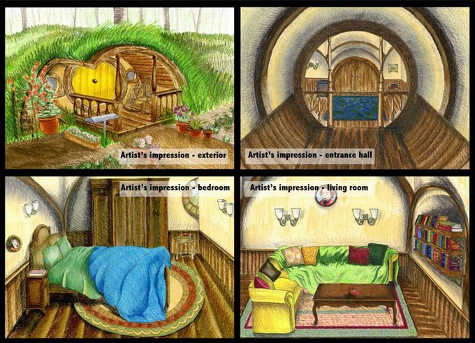 Fancy staying in a Hobbit House?
