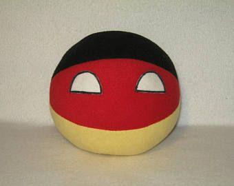 Germanyball plush Handmade