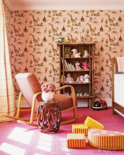 Vintage Wallpaper Nursery