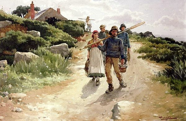 walter langley | walter langley 8 june 1852 march 21 1922 english painter 작품 명은 ...