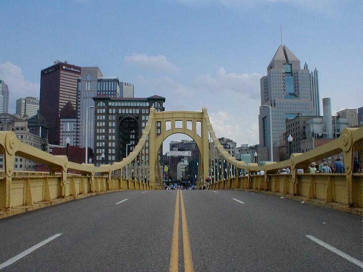 Roberto Clemente Bridge - Pittsburgh