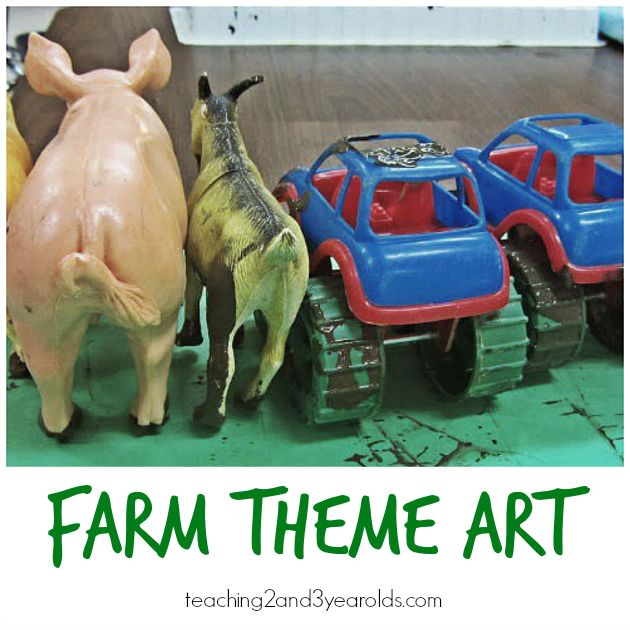 Preschool Farm Art