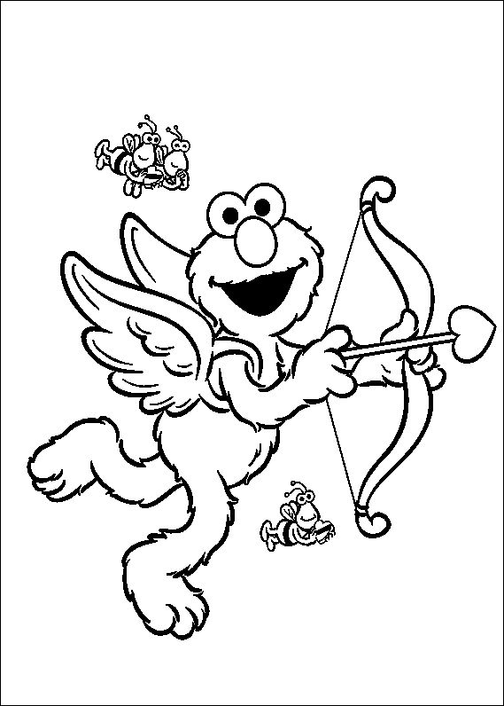 67 best sesame street coloring pages images on pinterest | sesame ... - Sesame Street Coloring Pages Elmo