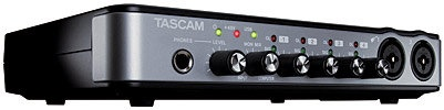 TASCAM US-600    Excellent interface for recording live into a Digital Audio Workstation (DAW).