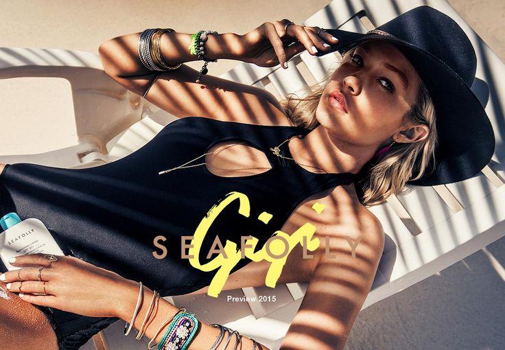Gigi Hadid for Seafolly Australia | Shop Seafolly 2015 Preview Catalogue