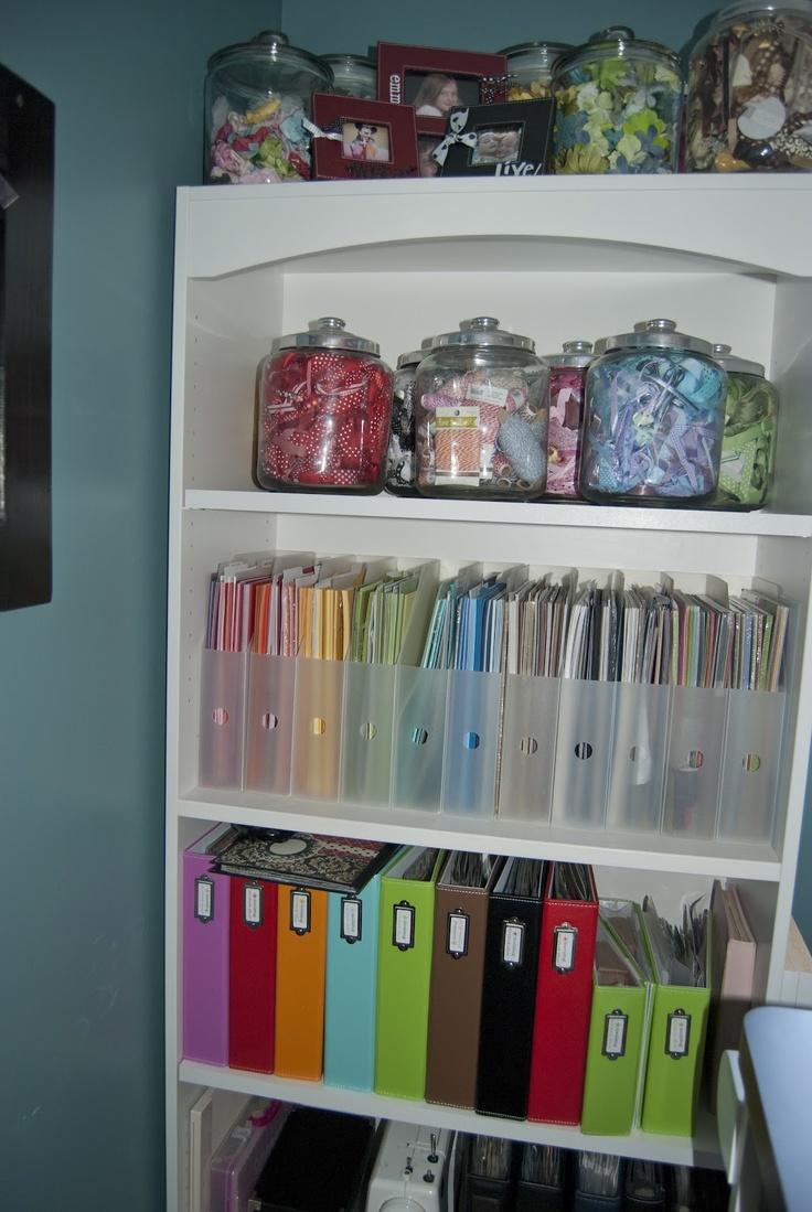 Allred Design Blog: Craft Storage Ideas Using Jars + Winner Announced
