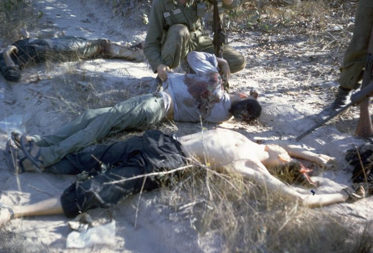 The casualties of war Operation Rolling Stone Feb 1966. South Vietnam.