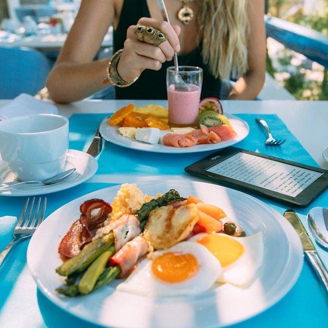 Buffet breakfast  @mykonostheoxeniahotel