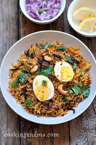Egg Biryani Recipe - How to Make Egg Biryani Indian-Style