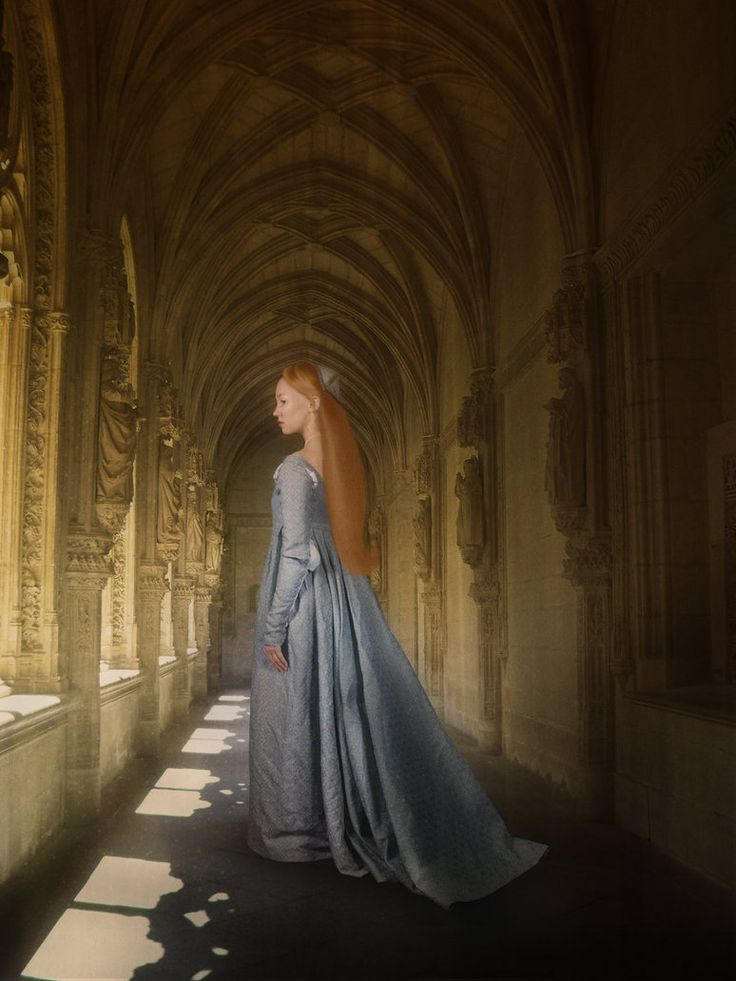Painting of medieval woman. | Of Kings & Queens & Faery ...