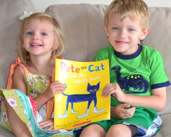 pete the cats white shoes with in lieu of preschool - Images Of Preschool Children