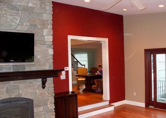 1000 Images About Accent Walls On Pinterest Grey Walls